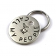 Call My People Dog ID Tag - Small Metal Pet Tag