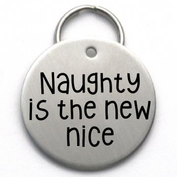 funny Christmas dog tag