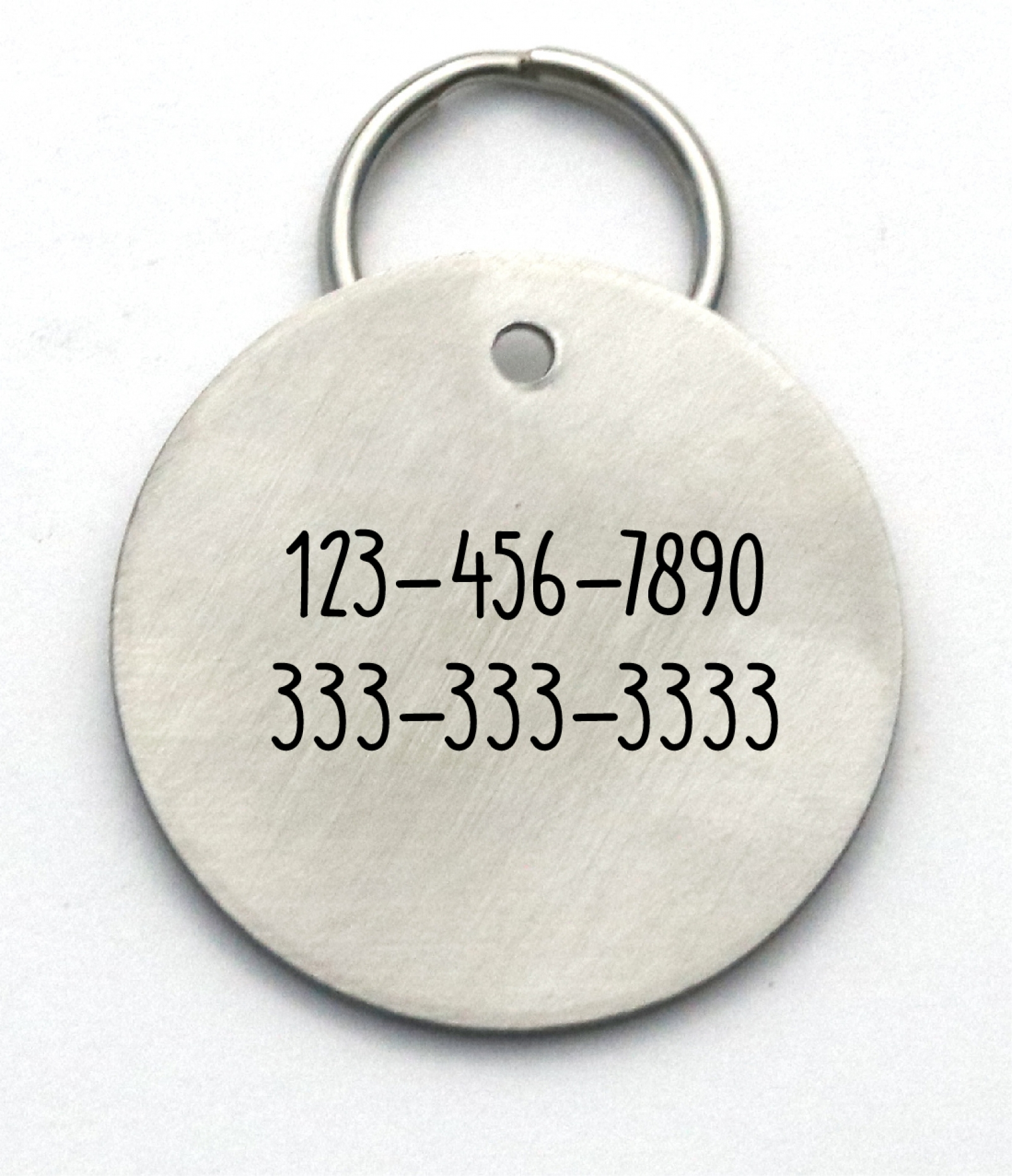 Phone Number On Dog Tag Canada