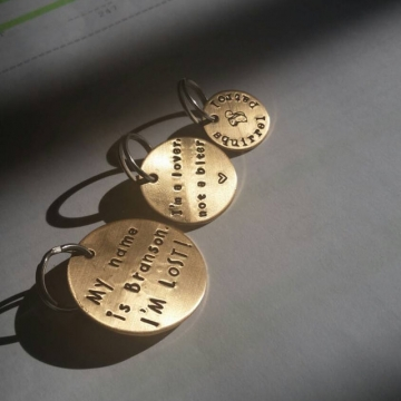 critter bling tags