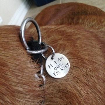 critter bling custom tag