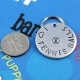 Customized metal pet tag - tennis balls