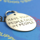 Large pet ID tag, have your people call my people