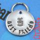 Best friend pet ID tag