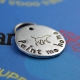 Unique customized metal pet tag