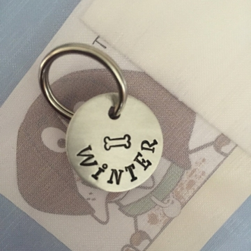 critter bling small tag